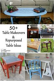 Dining Room Table Makeover Ideas Repurposed Table Ideas My Repurposed Life