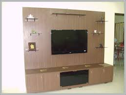 best lcd tv showcase designs from wood for modern living room