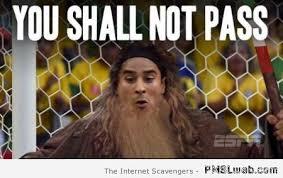 You Shall Not Pass Meme - 8 ochoa you shall not pass meme pmslweb