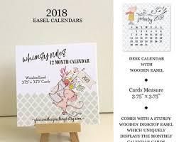2018 easel desk calendar 2018 calendar desk calendar with stand photography calendar