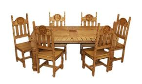 Dining Chairs Rustic Furniture Stunning Rustic Star Rope Dining Room Set Western