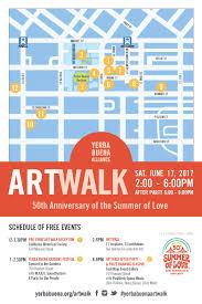 San Francisco Walking Map by Yerba Buena Art Walk Tickets Sat Jun 17 2017 At 12 00 Pm