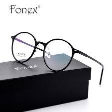 Optical Frame Tagged Glasses Fonex Fonex Tr90 Ultralight Font B Design B Font Vintage