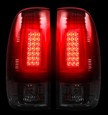 2001 Ford F150 Tail Lights 2008 2016 Super Duty Recon Smoked Led Tail Lights 264176bk