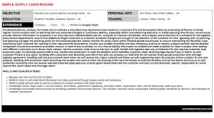 supply chain cover letter example kuehne nagel supply chain intern resumes u0026 cover letters
