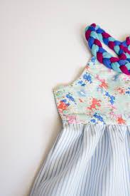 braided dress free pattern the sewing rabbit