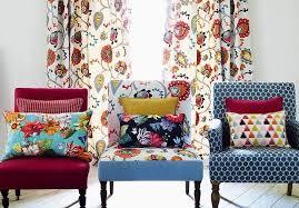 sofa bezugsstoffe vorhangstoff mit blumenmuster churchill