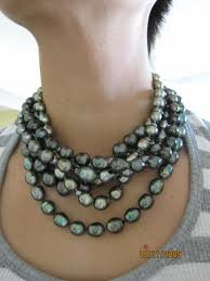 fashion black pearl necklace images 91 best pearl necklaces images pearl necklaces jpg