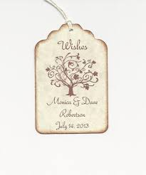 wedding wish tags 50 custom personalized wedding wish tree tags wedding