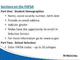 financial aid application process ppt download