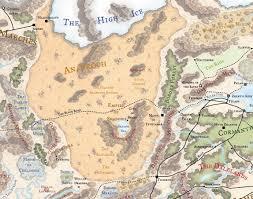 Map Of Faerun Fr Anauroch Jpg