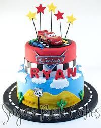 birthday stuff disney cars pit stop signature cake kit free printable mini