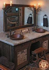 Rustic Bathroom Decorating Ideas Bathroom Design Rustic Vanity Bathroom Vanities Designs Design
