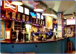 sports bars in london