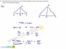 cbse class 10 maths ncert solutions chapter 6 triangles ex 6 4 q6