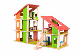 Chalet Houses Amazon Com Plandollhouse Chalet Dollhouse With Furniture Toys