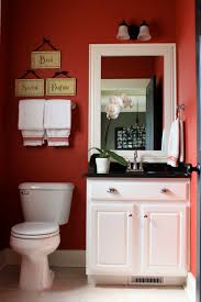 the yellow cape cod builder grade bathroom gets a custom look