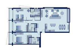 three bedroom flat floor plan shama sukhumvit bangkok three bedroom apartment deluxe