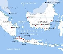Map Of Jakarta Indonesian Future Capital Proposal Wikipedia
