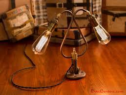 duel edison bulb table lamp dan cordero