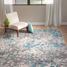 Silver Grey Rug Grey Rug With Stars Blue Area Rugs Gray Area Rugs Geometric