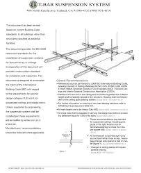 t bar suspension system