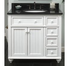 36 bathroom cabinet designs cr3621d white bayside cottage retreat 36 inch bathroom