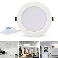 7 inch recessed light retrofit amazon com lvjing led downlight retrofit recessed lighting fixture