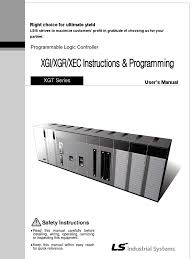 instruction manual xgi xgr xec 090312 programmable logic