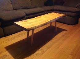 Oak Slab Table by Whitehead Woodworks Custom Handcrafted Wood Creations