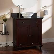 bathroom nice bathroom furniture of small dark brown wooden vanity