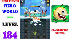 best fiends hero level 184 walkthrough youtube