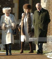 the royal family attend their traditional christmas day church