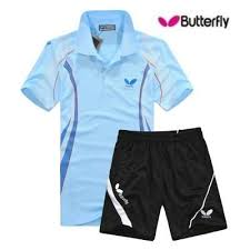butterfly t shirt table tennis butterfly table tennis shirt lovers sports fitness jersey suit