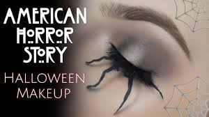 Eye Halloween Makeup by American Horror Story Spider Eye Halloween Makeup Youtube