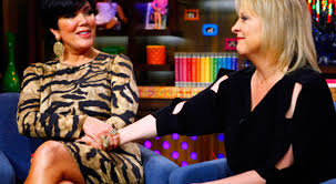 Kris Jenner Live - watch nancy grace and kris jenner watch what happens live with