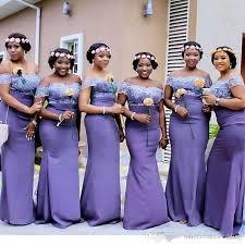 fitted bridesmaid dresses purple lace mermaid bridesmaid dresses 2017 africa style