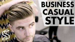 Mens Business Hairstyle by Professional Men U0027s Hairstyling Business Casual Short Sides