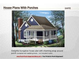 bungalow house plans with front porch fantastic house plans with porches