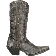 engineer biker boots crush by durango women u0027s gray punk studded western boots
