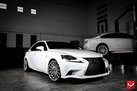 lexus ads vossen wheels lexus is vossen flow formed series vfs 2