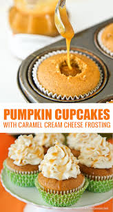 pumpkin cupcakes love from the oven