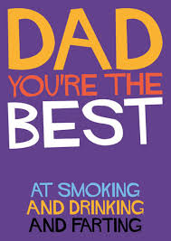 dad you u0027re the best funny birthday card dss 25 1 00 rude