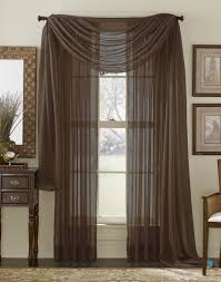 Zebra Curtain Panels Amazon Com 3 Piece Burgundy Sheer Voile Curtain Panel Set 2
