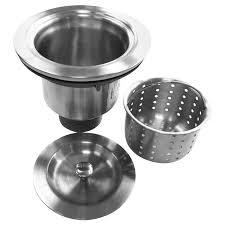 Kitchen Sink Strainer Basket Replacement - kitchen good strainer basket for your sink strainer basket ideas