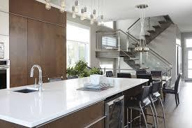 mdf cuisine armoires de cuisine moderne minimaliste en merisier et mdf simard