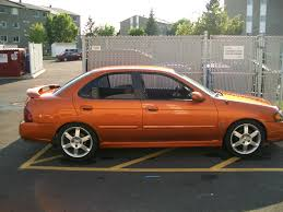 orange nissan sentra nissan sentra se r spec v 2004 turbo 275 whp 7500
