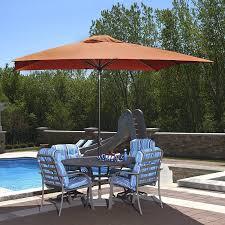 Sunbrella Patio Umbrella by Amazon Com Island Umbrella Nu5448ts Caspian Rectangular Market