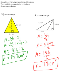 Area Formula by 10 2 Area Of A Triangle 1 What Is The Formula For The Area Of A