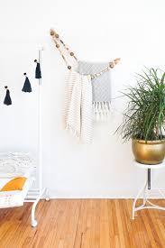 beaded home decor diy minimal beaded blanket holder sugar u0026 cloth home decor diy